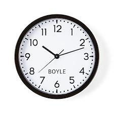 Boyle Newsroom Wall Clock