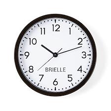 Brielle Newsroom Wall Clock