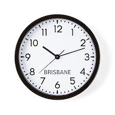 Brisbane Newsroom Wall Clock