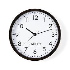 Carley Newsroom Wall Clock