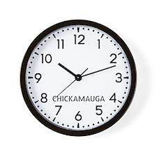 Chickamauga Newsroom Wall Clock