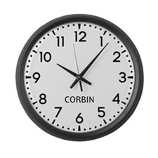 Corbin Newsroom Large Wall Clock