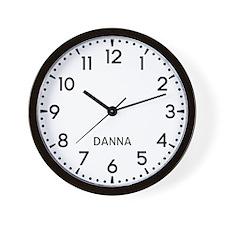 Danna Newsroom Wall Clock