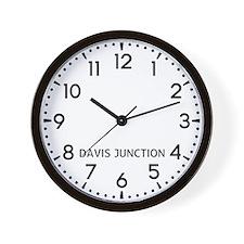 Davis Junction Newsroom Wall Clock