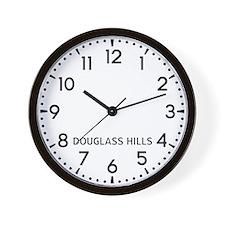 Douglass Hills Newsroom Wall Clock