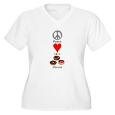 Peace Love Donuts T-Shirt