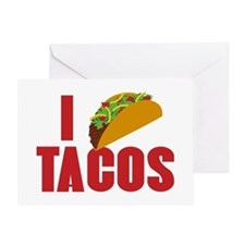 I Love Tacos Greeting Card