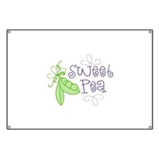 Sweet Pea Banner