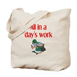 Plumber Tote Bag