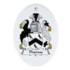 Thomas (Wales) Oval Ornament
