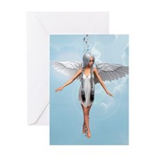 Angel in Heaven Greeting Cards
