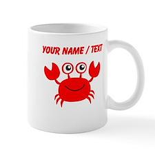 Custom Red Crab Mugs