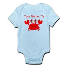 Custom Red Crab Body Suit