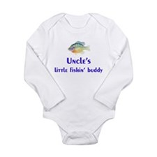 Uncles little fishin buddy Body Suit