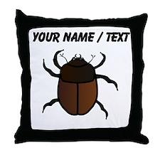 Custom Junebug Throw Pillow