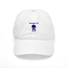 Custom Blue Jellyfish Baseball Cap