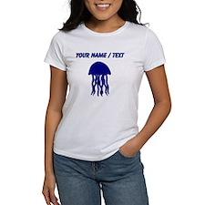 Custom Blue Jellyfish T-Shirt