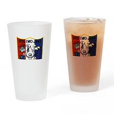 USS Iwo Jima & Apollo 13 Drinking Glass