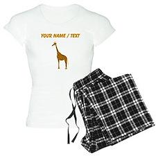 Custom Giraffe pajamas