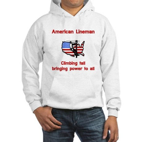 American Lineman Hooded Sweatshirt