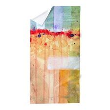 Colorfields Watercolor Beach Towel