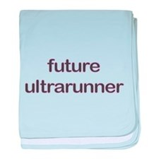 Future Ultrarun Purple baby blanket