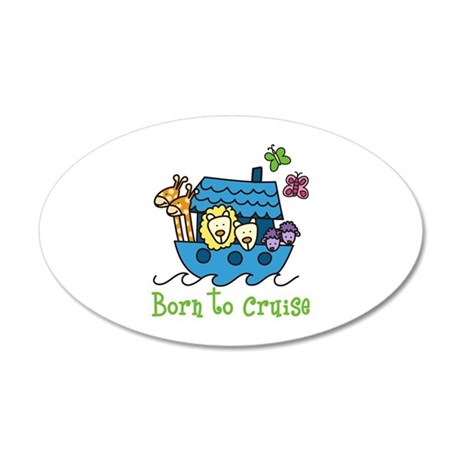 Born To Cruise Wall Decal