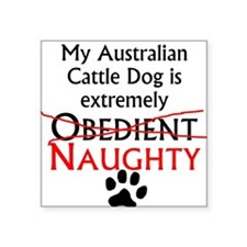 Naughty Australian Cattle Dog Sticker