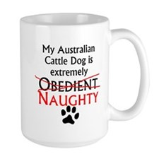 Naughty Australian Cattle Dog Mugs