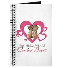 My Hero Wears Combat Boots Journal