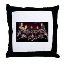 Metalocalypse Dethklok Throw Pillow