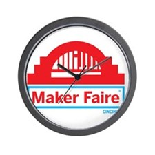 Cincinnati Maker Faire Wall Clock