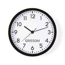 Grissom Newsroom Wall Clock