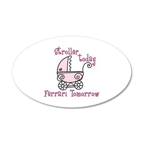 Stroller Today Wall Decal
