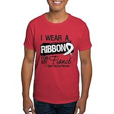 Fiance Lung Cancer T-Shirt