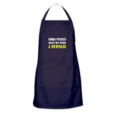 Pissed Not Mermaid Apron (dark)