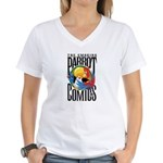 Smoking Parrott Comics T-Shirt