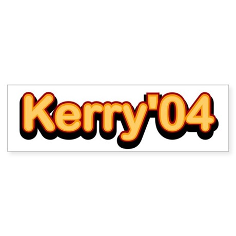 Kerry '04. Bumper Sticker