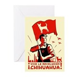 Chihuahua Patriotism Greeting Cards (6)