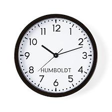 Humboldt Newsroom Wall Clock