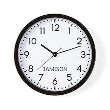 Jamison Newsroom Wall Clock