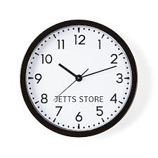 Jetts Store Newsroom Wall Clock