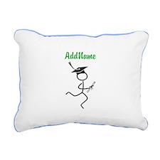 Customize Grad Runner © Rectangular Canvas Pillow