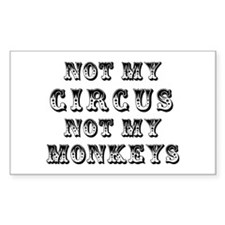 Not My Circus Stickers