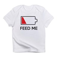 Feed Me Low Power Battery Infant T-Shirt