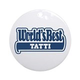 WB Dad [Yiddish] Ornament (Round)