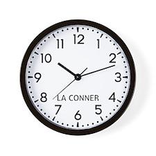 La Conner Newsroom Wall Clock