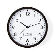 Luzon Newsroom Wall Clock