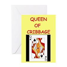 CRIBBAGE16 Greeting Cards