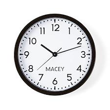 Macey Newsroom Wall Clock